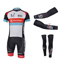 2013 radio shack Cycling Jersey+Shorts+Arm sleeves+Leg sleeves