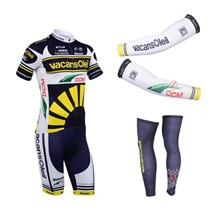 2013 vacansoleil Cycling Jersey+Shorts+Arm sleeves+Leg sleeves