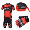 2013 bmc Cycling Jersey+Shorts+Scarf+Gloves S