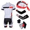 2013 pinarello Cycling Jersey+bib Shorts+Scarf+Arm sleeves+Gloves S