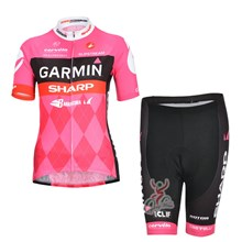 2013 Garmin Women Cycling Jersey Short Sleeve and Cycling Shorts Cycling Kits