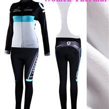 2013 Women trek Thermal Fleece Cycling Jersey Long Sleeve and Cycling bib Pants