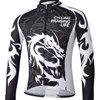 2013 longqishi  Thermal Fleece Cycling Jersey Long Sleeve Only Cycling Clothing