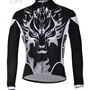 2013 ghost Thermal Fleece Cycling Jersey Long Sleeve Only Cycling Clothing