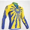 2013  ltd-eye-yellow-blue Cycling Jersey Long Sleeve Only Cycling Clothing S