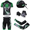 2013 suolian Cycling Jersey+Shorts+Scarf+Arm sleeves+Gloves