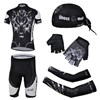 2013 ghost-wolf Cycling Jersey+Shorts+Scarf+Arm sleeves+Gloves