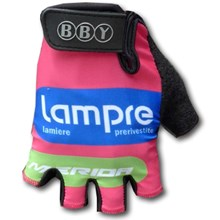2013 lampre  Cycling Gloves Half Finger