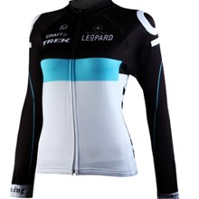 2012 women TREK Thermal Fleece Cycling Jersey Long Sleeve Only Cycling Clothing