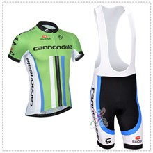 2014 cannondale Cycling Jersey Short Sleeve and Cycling bib Shorts Cycling Kits Strap
