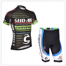 2014 cannondale Cycling Jersey Short Sleeve and Cycling Shorts Cycling Kits