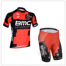 2014 BMC Cycling Jersey Short Sleeve and Cycling Shorts Cycling Kits