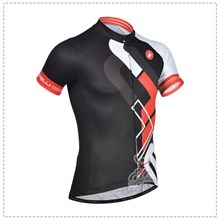 2014 Castelli Black Cycling Jersey Short Sleeve Only Cycling Clothing