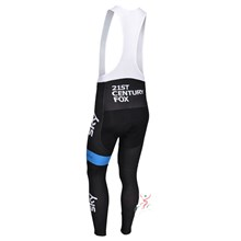 2014 SKY Thermal Fleece Cycling bib Pants Only Cycling Clothing