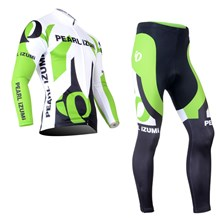 PEARL IZUMI Thermal Fleece Cycling Jersey Long Sleeve and Cycling Pants