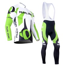 PEARL IZUMI Thermal Fleece Cycling Jersey Long Sleeve and Cycling bib Pants