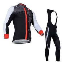2014 CASTELLI Thermal Fleece Cycling Jersey Long Sleeve and Cycling bib Pants