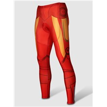 2014  Iron Man Thermal Fleece Cycling Pants Only Cycling Clothing
