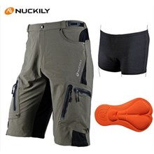 NUCKILY casual quick-drying antimicrobial shorts + Underpants S-XXL
