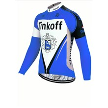 2017 Tinkoff blue Cycling Jersey Long Sleeve Only Cycling Clothing cycle jerseys Ropa Ciclismo bicicletas maillot ciclismo