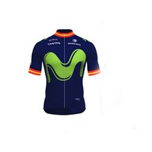 2017 Movistar  Cycling Jersey Ropa Ciclismo Short Sleeve Only Cycling Clothing cycle jerseys Ciclismo bicicletas maillot ciclismo