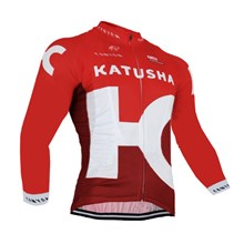 2016 KATUSHA  Cycling Jersey Long Sleeve Only Cycling Clothing cycle jerseys Ropa Ciclismo bicicletas maillot ciclismo