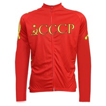 2016 CCCP Thermal Fleece Cycling Jersey Ropa Ciclismo Winter Long Sleeve and Cycling Pants ropa ciclismo thermal ciclismo jersey thermal