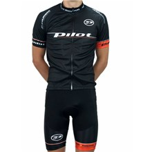 2016 Pilot Cycling Jersey Maillot Ciclismo Short Sleeve and Cycling bib Shorts Cycling Kits Strap cycle jerseys Ciclismo bicicletas