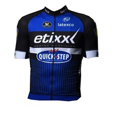 2016 ETIXX Quick Step Cycling Jersey Ropa Ciclismo Short Sleeve Only Cycling Clothing cycle jerseys Ciclismo bicicletas maillot ciclismo