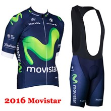 2016 movistar Cycling Jersey Maillot Ciclismo Short Sleeve and Cycling bib Shorts Cycling Kits Strap cycle jerseys Ciclismo bicicletas
