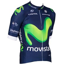 2016 Movistar Cycling Jersey Ropa Ciclismo Short Sleeve Only Cycling Clothing cycle jerseys Ciclismo bicicletas maillot ciclismo