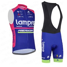 2016 Lampre Cycling Maillot Ciclismo Vest Sleeveless and Cycling Bib Shorts Cycling Kits cycle jerseys Ciclismo bicicletas