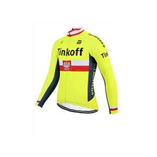 2017 Tinkoff Cycling Jersey Long Sleeve Only Cycling Clothing cycle jerseys Ropa Ciclismo bicicletas maillot ciclismo