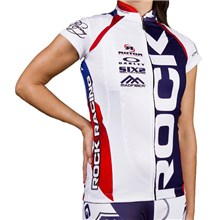 2016 Women RockRacing America White-Blue Cycling Vest Jersey Sleeveless Ropa Ciclismo Only Cycling Clothing cycle jerseys Ciclismo bicicletas maillot ciclismo cycle jerseys