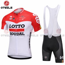 2018 LOTTO Cycling Jersey Maillot Ciclismo Short Sleeve and Cycling bib Shorts Cycling Kits Strap cycle jerseys Ciclismo bicicletas