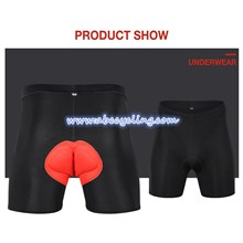 OTWZLS ORANGE PADDED CYCLING UNDERPANTS PRO CYCLING UNDERWEAR