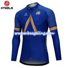 2018 AQUABLUE Cycling Jersey Long Sleeve Only Cycling Clothing cycle jerseys Ropa Ciclismo bicicletas maillot ciclismo