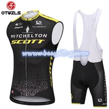 2018 SCOTT Cycling Maillot Ciclismo Vest Sleeveless and Cycling Bib Shorts Cycling Kits cycle jerseys Ciclismo bicicletas